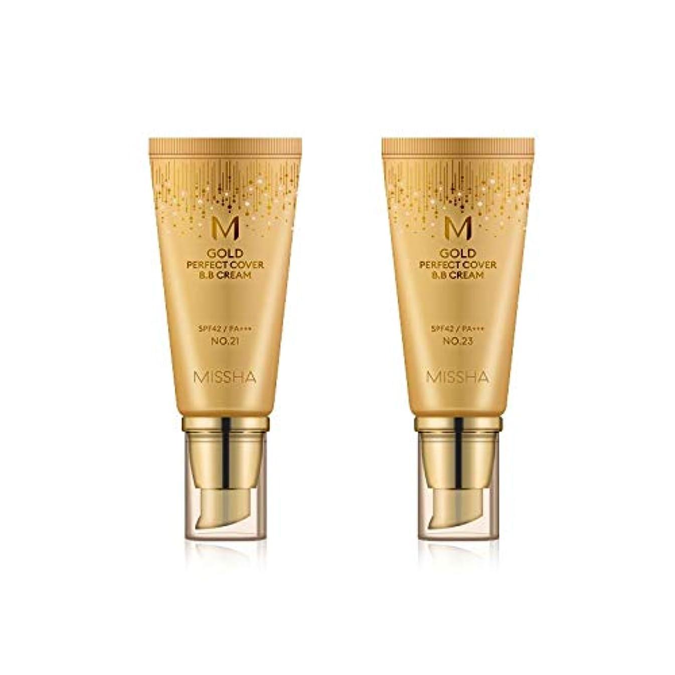 火星ずっと百万MISSHA Gold Perfecte Cover BB Cream SPF42 PA+++ / ミシャ ゴールド パーフェクト カバー BBクリーム 50ml *NO.21 [並行輸入品]
