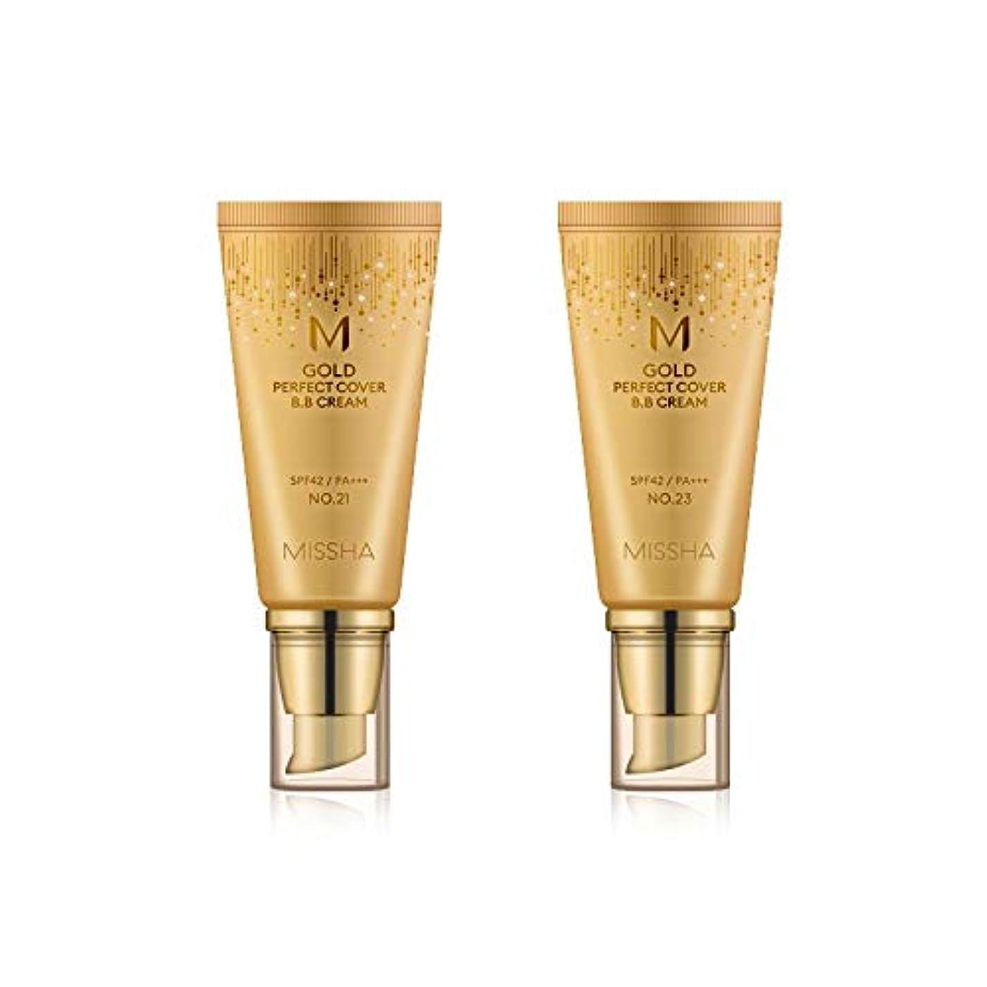 差し迫ったいまやさしくMISSHA Gold Perfecte Cover BB Cream SPF42 PA+++ / ミシャ ゴールド パーフェクト カバー BBクリーム 50ml *NO.23 [並行輸入品]