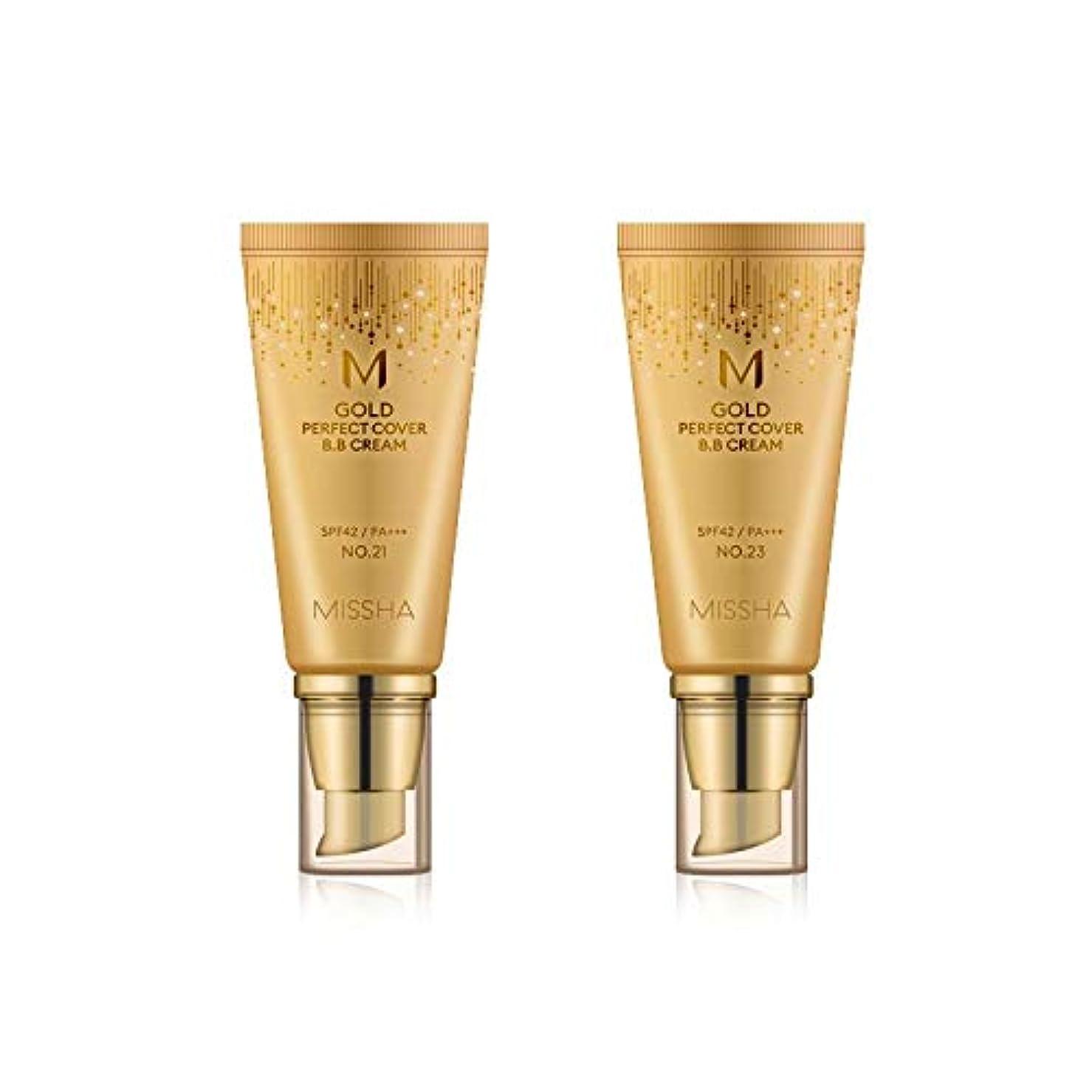 自己スポークスマン管理するMISSHA Gold Perfecte Cover BB Cream SPF42 PA+++ / ミシャ ゴールド パーフェクト カバー BBクリーム 50ml *NO.21 [並行輸入品]