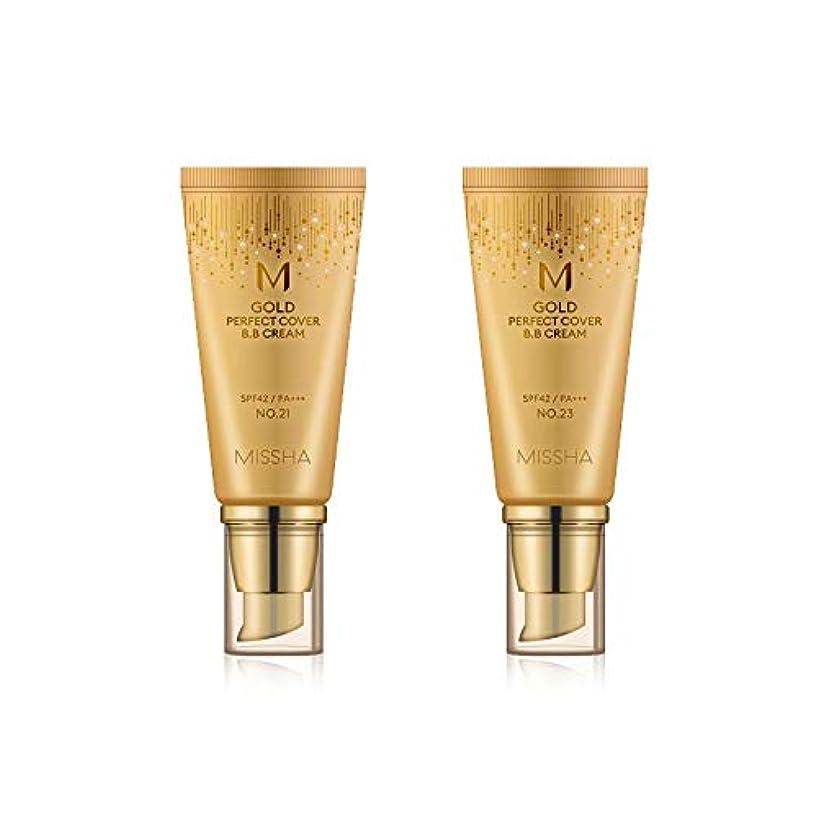 エンゲージメントお世話になったわざわざMISSHA Gold Perfecte Cover BB Cream SPF42 PA+++ / ミシャ ゴールド パーフェクト カバー BBクリーム 50ml *NO.21 [並行輸入品]