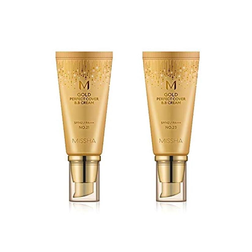 いわゆる基礎彼MISSHA Gold Perfecte Cover BB Cream SPF42 PA+++ / ミシャ ゴールド パーフェクト カバー BBクリーム 50ml *NO.23 [並行輸入品]