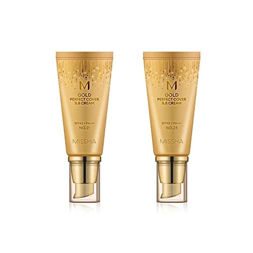 スリル自伝希少性MISSHA Gold Perfecte Cover BB Cream SPF42 PA+++ / ミシャ ゴールド パーフェクト カバー BBクリーム 50ml *NO.21 [並行輸入品]