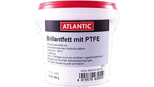 Atlantic Brilliantfett mit PTFE 450 g Eimer (3455)
