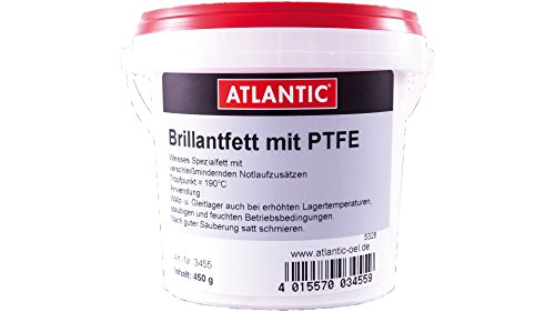 Atlantic Brilliantfett mit PTFE 450 g Eimer (3455)