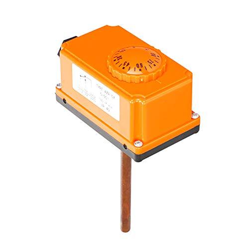 1/2 pulgada termostato tubería para tubo caldera termostato contacto calefaccion 220v 16A - 0~110 grado Celsius (limite alto 90 grado Celsius)