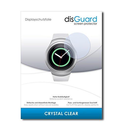 disGuard Displayschutzfolie für Samsung Gear S2 Classic [3 Stück] Crystal Clear, Kristall-klar, Unsichtbar, Extrem Kratzfest - Displayschutz, Schutzfolie, Glasfolie, Panzerfolie