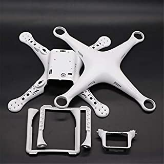 Oddalsail-US Drone Body Shell Frame Case Cover with Landing Gear for DJI Phantom 3 Professional Advanced Standard Quadcopter Spare Parts White