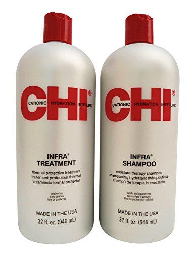 Infra Shampoo & Treatment 32oz Duo Set
