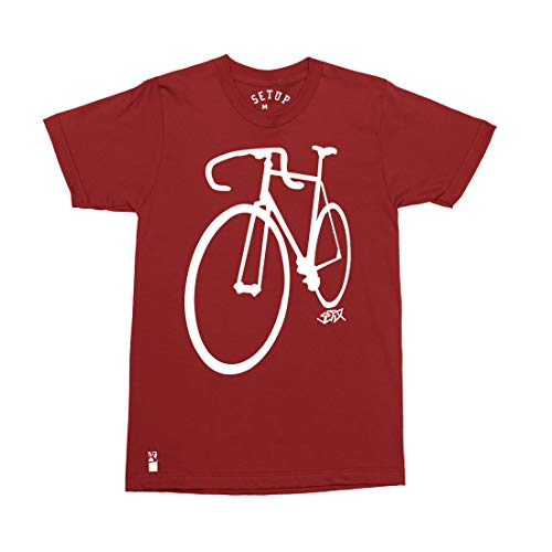 Setup® Goodlife Fahrrad T-Shirt in Rot