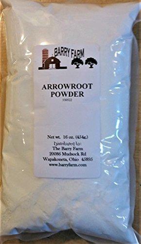Arrowroot Powder, 1 lb.