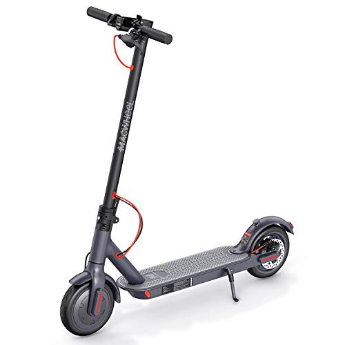 "Electric Scooter, Powerful 350W Motor, 18.6 Miles Long-Range 270Wh 36V/7.5Ah Battery, Up to 15.6 MPH, 8.5"" Non-Pneumatic Foam Filled Tires, Adult Electric Scooter for Commute and Travel (MX1)"