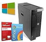 Dell Precision T3610 Tower| Intel Xeon-E5-1620-V2@ 3,7GHz | 32GB | 500GB HDD | DVD-Brenner | Nvidia Quadro K4000 | Windows 10 Pro | BullGuard | SoftMaker Office