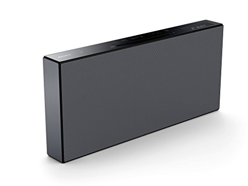Sony CMT-X5CD Micro-HiFi System (40 Watt, CD-Player, FM/AM-Tuner, Bluetooth, NFC, USB) schwarz
