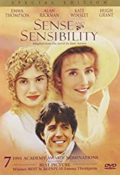 Sense & Sensibility adaptation dvd cover