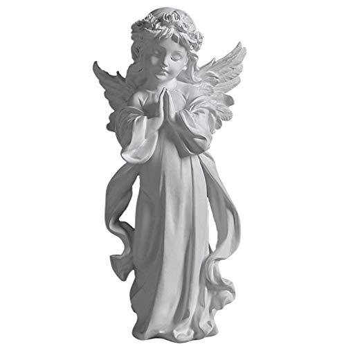 Décoration de la maison Statue d'ange en résine Modèle d'ange Bureau Salon Bureau Décoration de Bureau Armoire à vin Bureau Balcon Décoration H1,5 cm pour la maison Jardin