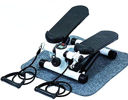WBJLG Bicicleta Plegable Máquinas elípticas Paso a Paso, Bicicleta estática Mini portátil, Ejercitador de Escritorio Debajo del Pedal, Fisioterapia en casa Fitness, Ciclo de Entrenamiento Steppers