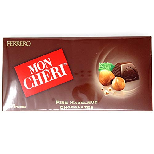 Ferrero Mon Cheri Hazelnut Chocolates 15 pieces (Single Pack) (1)