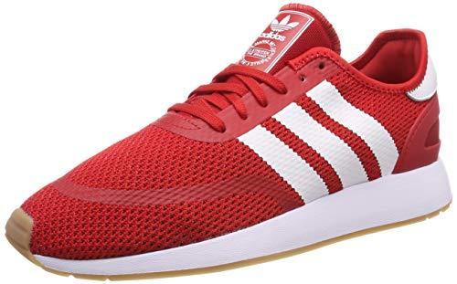 adidas N-5923 Zapatillas de Gimnasia Hombre, Rojo (Scarlet/Ftwr White/Gum4 Scarlet/Ftwr White/Gum4), 44 EU (9.5 UK)