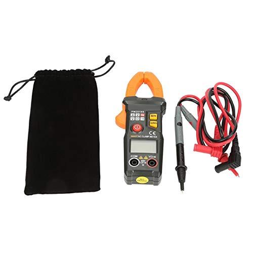 Pinza amperimétrica digital, pinza amperimétrica de corriente alterna, multímetro, 6000 cuentas, voltios de CA, ohmios, Hz, medidor para osciloscopio(PM2016S)