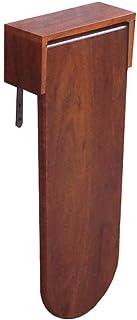 Giow Mesa Plegable pequeña para el hogar Escritorio de Madera con Patas Individuales de Acero Inoxidable Tornillos de Mo...