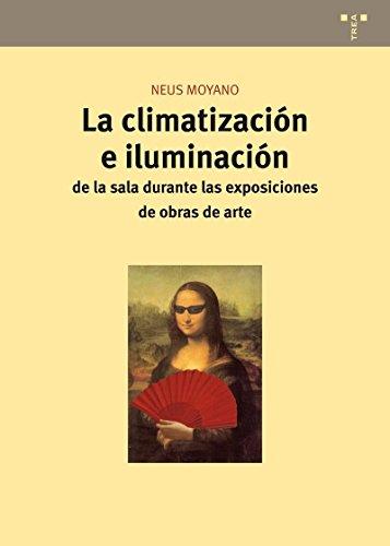 La climatización e iluminación de la sala durante la exposición de obras de arte (Conservación y Restauración del Patrimonio)