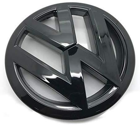 Aufkleber für Kofferraumdeckel, Heckklappe, Kofferraum, Emblem für Golf 7,5 MK7,5 2017+, Schwarz glänzend