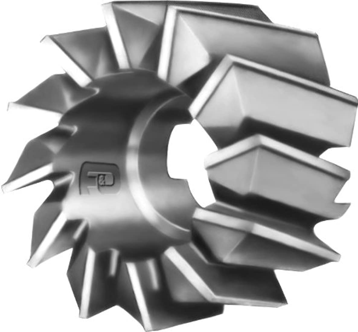 F&D Tool Company 14504-A1614R Shell End Mills for Steel, High Speed Steel, 1.75