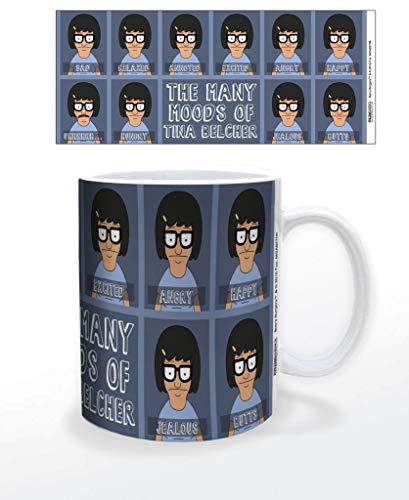 Pyramid America Bobs Burger die Vielen Moods of Tina Belcher Kaffee Tasse