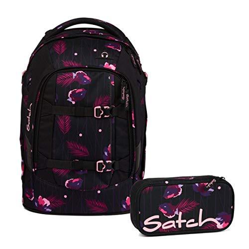 Satch Pack Mystic Nights Schulrucksack Set 2tlg.