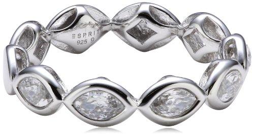 Esprit Jewels Damen-Ring 925 Sterling Silber navette Gr. 50 (15.9) ESRG92149A160