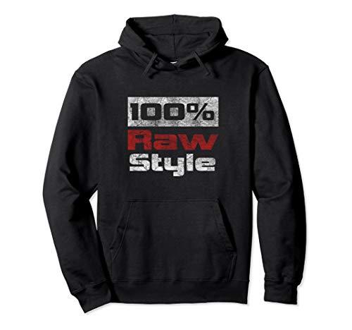 100% Rawstyle Hardstyle Merchandise Pullover Hoodie