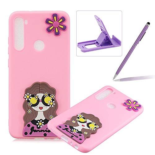 Sale!! Herzzer Soft TPU Case for Samsung Galaxy A21,3D Silicone Cover for Samsung Galaxy A21, Candy ...
