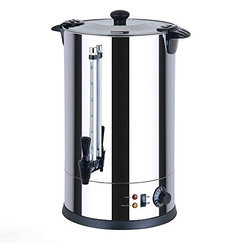Generic CTRN15 Catering Urn, Hot Water Boiler & Dispenser, Ideal for Home Brewing, Commercial or Office Use, 15 Litre…