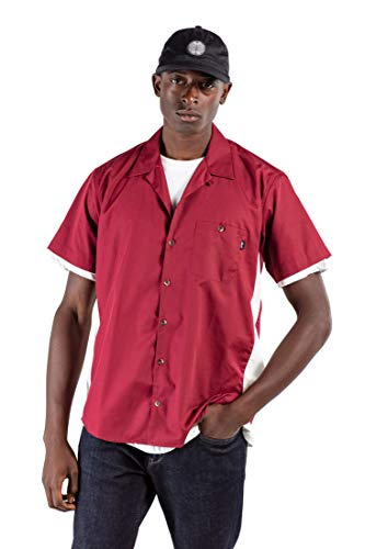 Reell Bowling Shirt, Red/White XL Artikel-Nr.1302-038 - 15-018