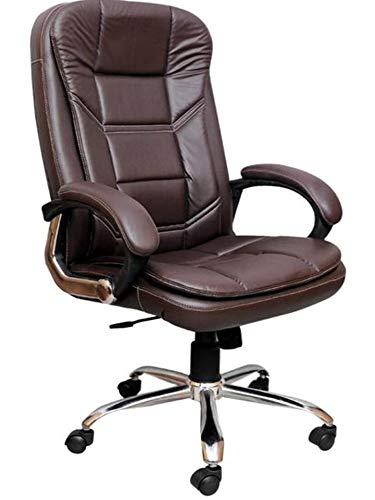 NICE GOODS Office Chair for Computer Work & Study Chair for Home | Gaming Chairs Ergonomic Revolving Rolling for Office Work at Home (1000-Tiffany Brown -HB)