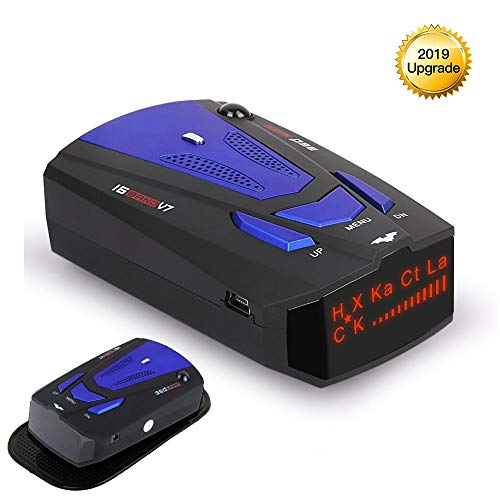 Great Features Of RICHOYBAN Radar Detector, Voice Prompt Speed, City/Highway Mode Radar Detector for...