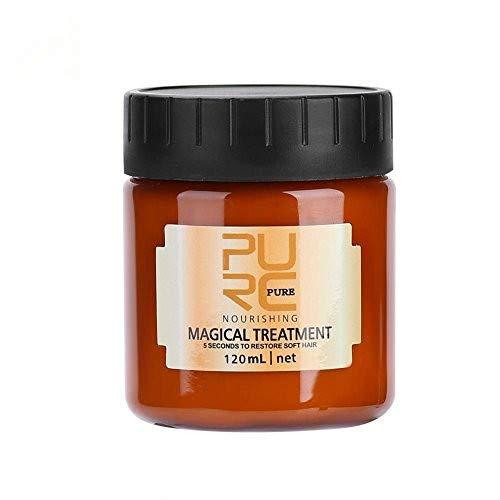 120ML PROFESSIONAL Mascarilla mágica capilar Tratamiento nutritivo Super máscara para cabello seco/muy seco/maltratado Beneficios super máscara