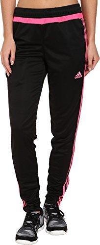 adidas Women's Tiro 15 Training Pants, Black/Black, X-Small