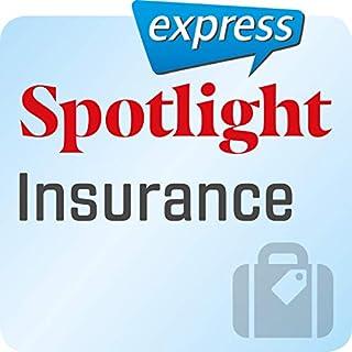Spotlight express - Reisen: Wortschatz-Training Englisch - Versicherung Titelbild