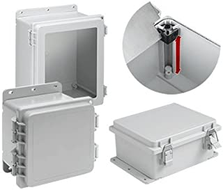 A10106PHCW-Plastic Enclosure, IP66, NEMA 13, Junction Box, Polyester (PET), IP66, NEMA 4, 4X, 12, 13, 255 mm