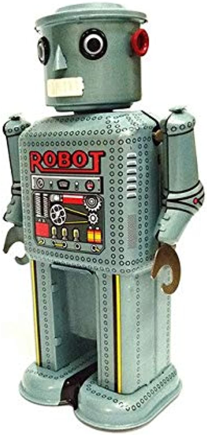 XuBa [Funny] Adult Collection Retro Wind up Toy Metal Tin Moving Arms Swing Alien Robot Mechanical Clockwork Toy Figures Kids Gift as Picture Show