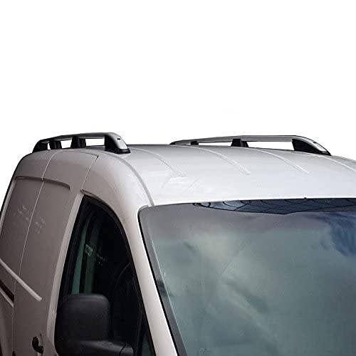 Baca de aluminio gris (Elegance) para VW Caddy MAXI a partir de 2003 con TÜV/ABE