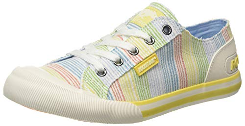 Rocket Dog Jazzin, Zapatillas Mujer, Multicolor (Ravi Yellow P21), 37 EU