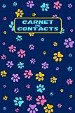 Carnet De Contacts: carnet d'adresses alphabétique   répertoire téléphonique   carnet de 158 contacts à remplir pour sauvegarder les coordonnées ...   Cahier de contacts de A à Z (15 cm x 22cm)