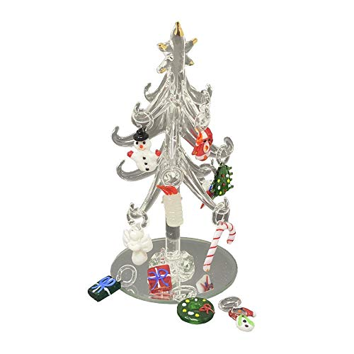 Christmas Decoration LED Lights. Xmas Outdoor Tree Table Festival Decorations. Indoor Stand Small Trees With Warm White Stars and Fairies. Ideal Christmas Accessories. Multiple Colors.