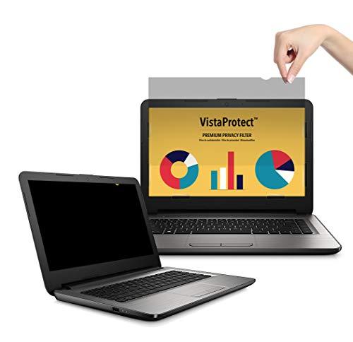 VistaProtect – Premium Blickschutzfilter & Anti-Blaulichtfilter, Privacy Filter Anti Blue Light Blickschutzfolie für Laptops & Notebooks (14″ Zoll)