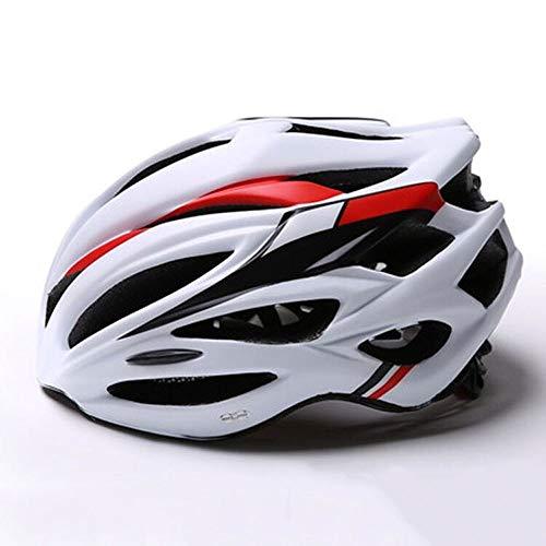 Casco Bici Specialized Mountain Bike Casco con Staccabile Visiera Confortevole Leggero Ciclismo Mountain & Strada della Bicicletta caschi for Adulto Uomini Donne LQHZWYC (Color : A)