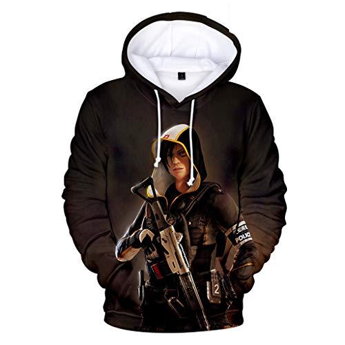 U CAN Rainbow Six Siege Hoodies Lange Ärmel Mit Kapuze Sweatshirts 3D Digitaldruck Pullover