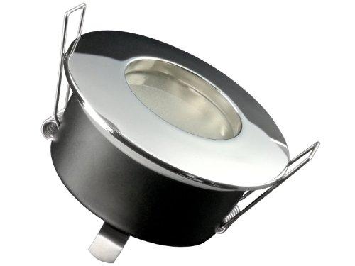 Foco LED empotrable RW de 1+ QW de 1LC de Light 5W blanco cálido, Rund Chrom glänzend, GU10 5.00 wattsW 230.00 voltsV