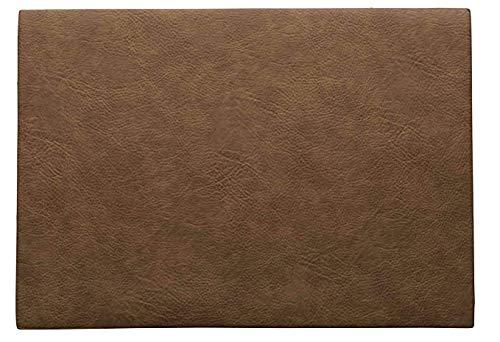 ASA 78307076 Set de table en PVC toffee 46 x 33 cm Végan leather, en PU 78307076